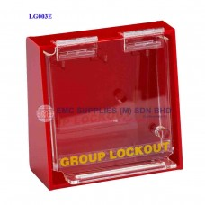 Brady Acrylic Wall-Mounted Group Lockout Boxes