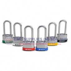 "Brady Laminated Steel Padlocks - 2"" Shackle"