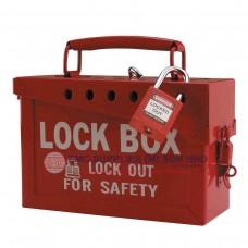 Brady Portable Metal Group Lockout Boxes