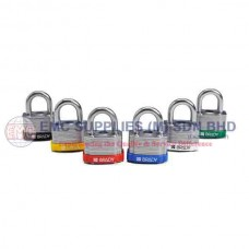 "Brady Key Retaining Steel Padlocks 3/4"" Shackle"