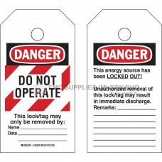 Brady RipTag Danger Do Not Operate Safety Tag Roll with Red Stripes EMC Supplies (M) Sdn. Bhd. is an established supplier mainly supplying Electro, Mechanical Components. We are an authorised distributor for the brand Brady, RKC, Hubbell and Nitto.