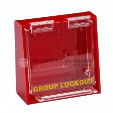Brady Acrylic Wall-Mounted Group Lockout Boxes