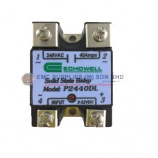 Echowell Solid State Relay P2440DL EMC Supplies (M) Sdn. Bhd. is an established supplier mainly supplying Electro, Mechanical Components. We are an authorised distributor for the brand Brady, RKC, Hubbell and Nitto.